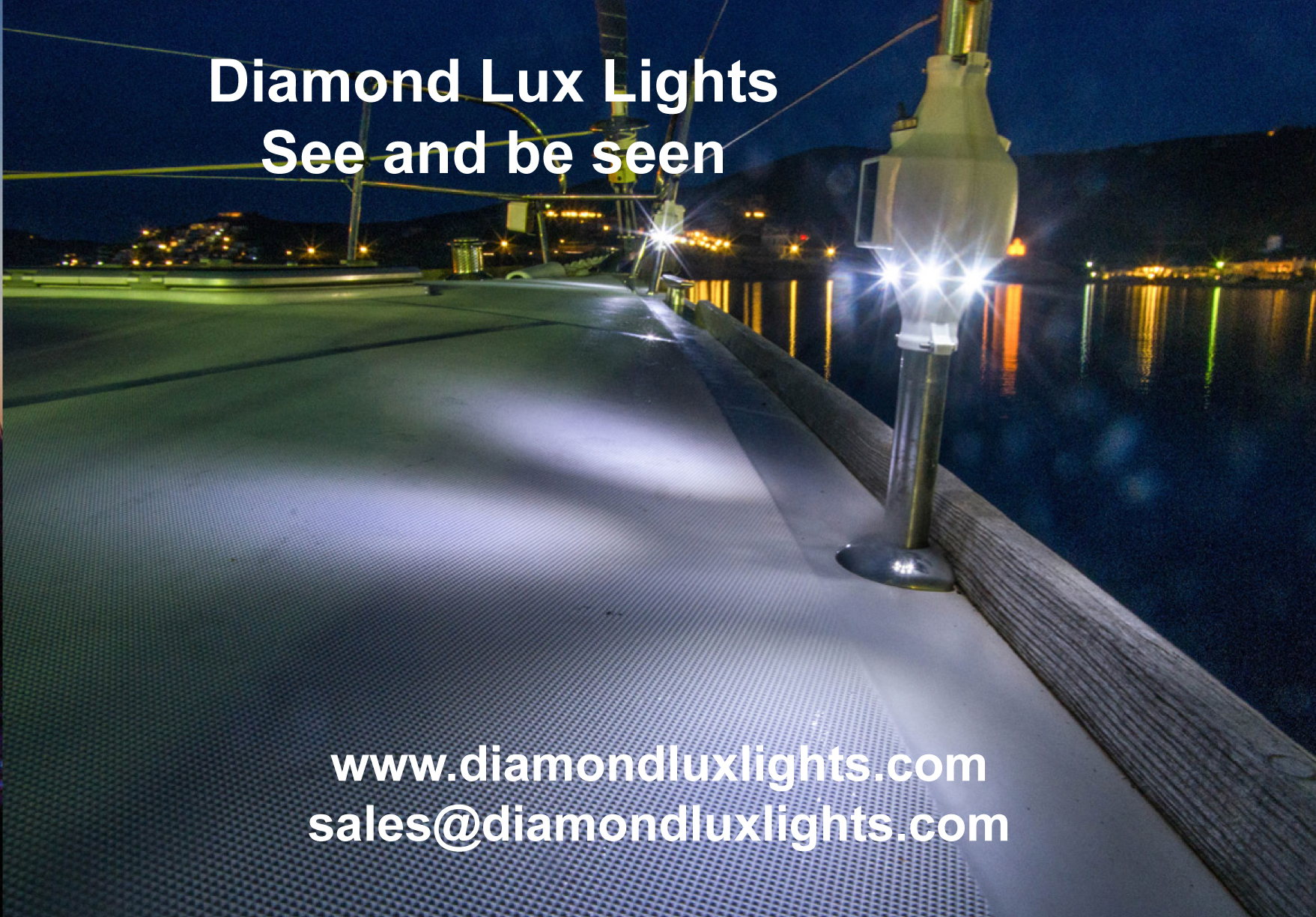 Marine deck led lights - Diamond Lux Lights